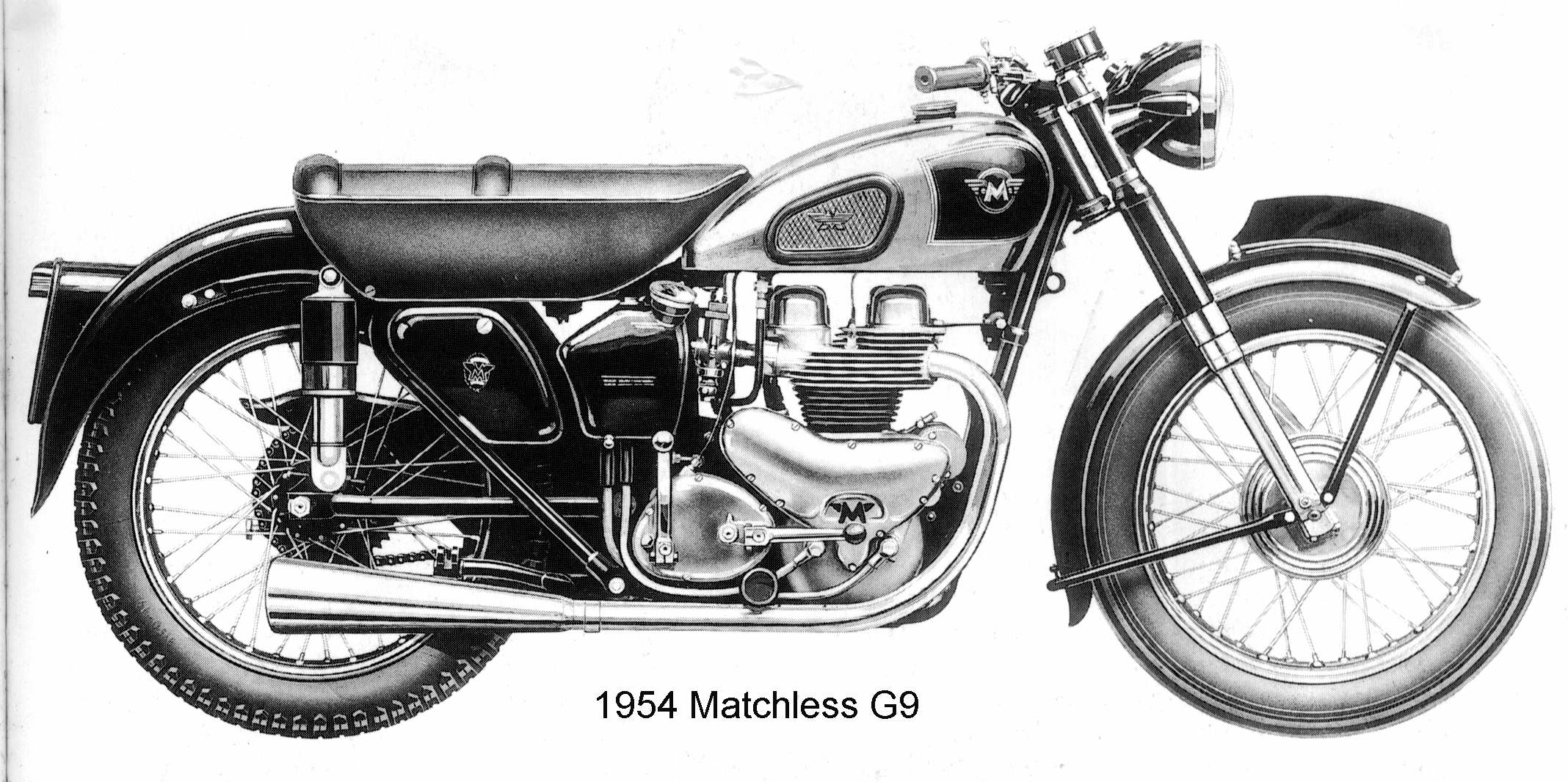 Matchless g 11 csr for sale 1958 on car and classic uk c544589 - 1954 Matchless G9 Jpg 2 136 1 066 Pixels