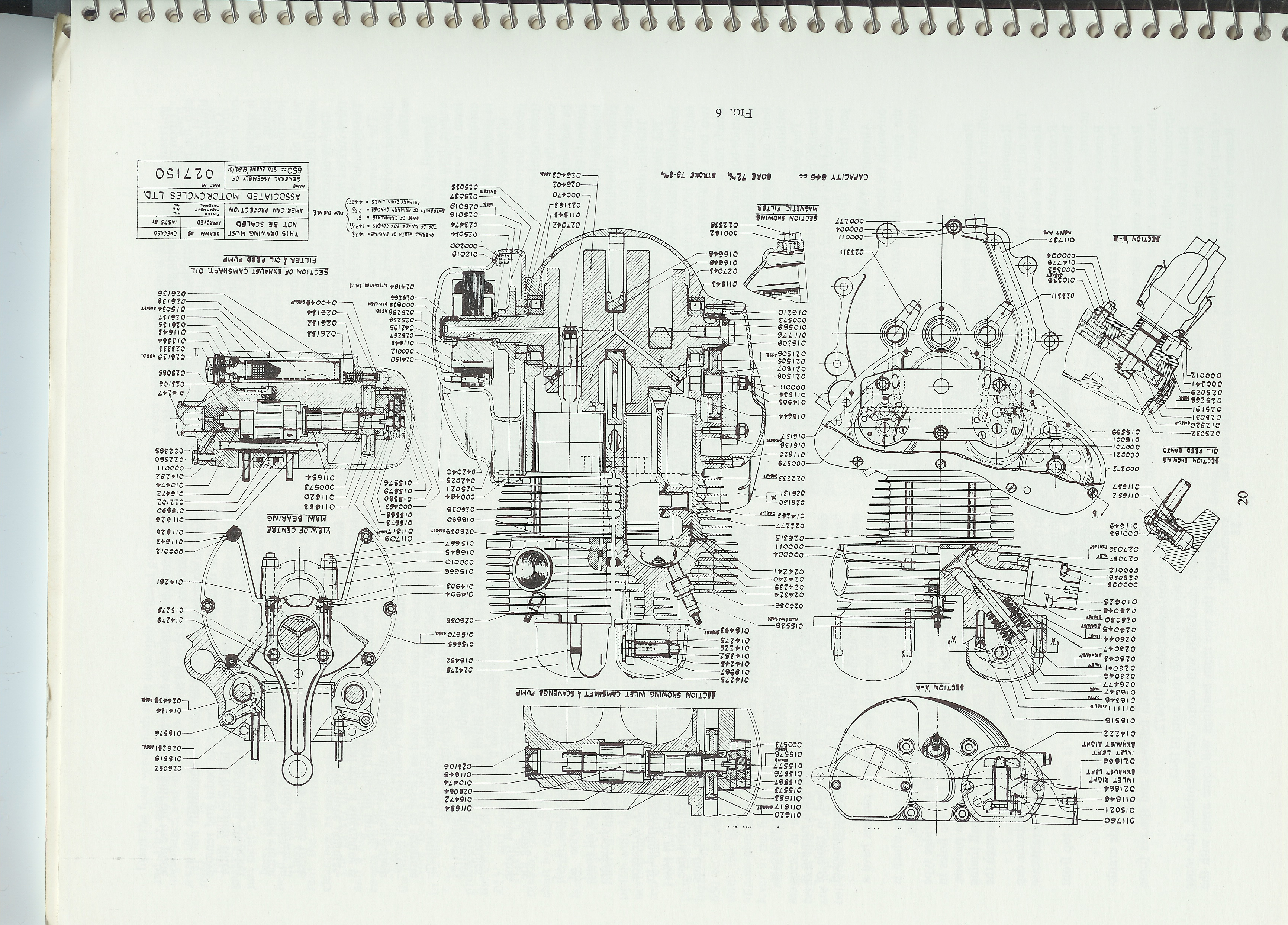 Wiring Diagram For Matchless G80